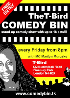 The Comedy Bin, Stand-Up Comedy, London Open Mic Comedy,