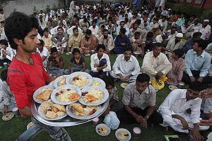 Muslim Holy Fasting month of Ramadan in Lahore, Pakistan