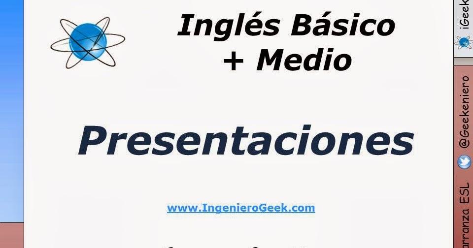 presentaciones de ingl u00e9s b u00e1sico   medio   alto publicadas