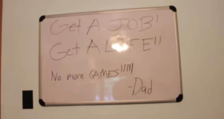 Video Gamer Psycho Dad
