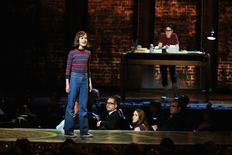 Sydney Lucas performs Ring of Keys, Fun Home wins Tony Awards for Best Musical. Photo by Sara Krulwich/The New York Times.