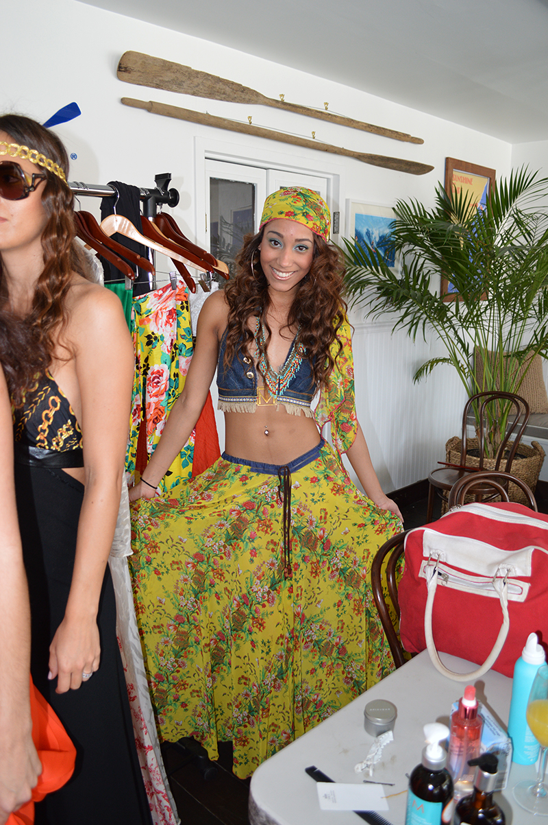model lynnette wearing tanya marie
