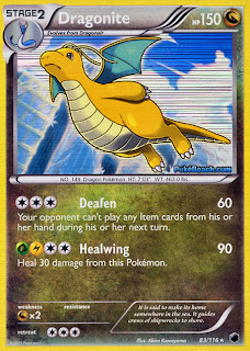 Dragonite Plasma Freeze Pokemon Card