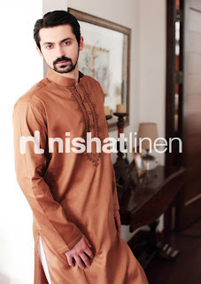 Nishat Men's Kurta Spring-Summer Collection 2013