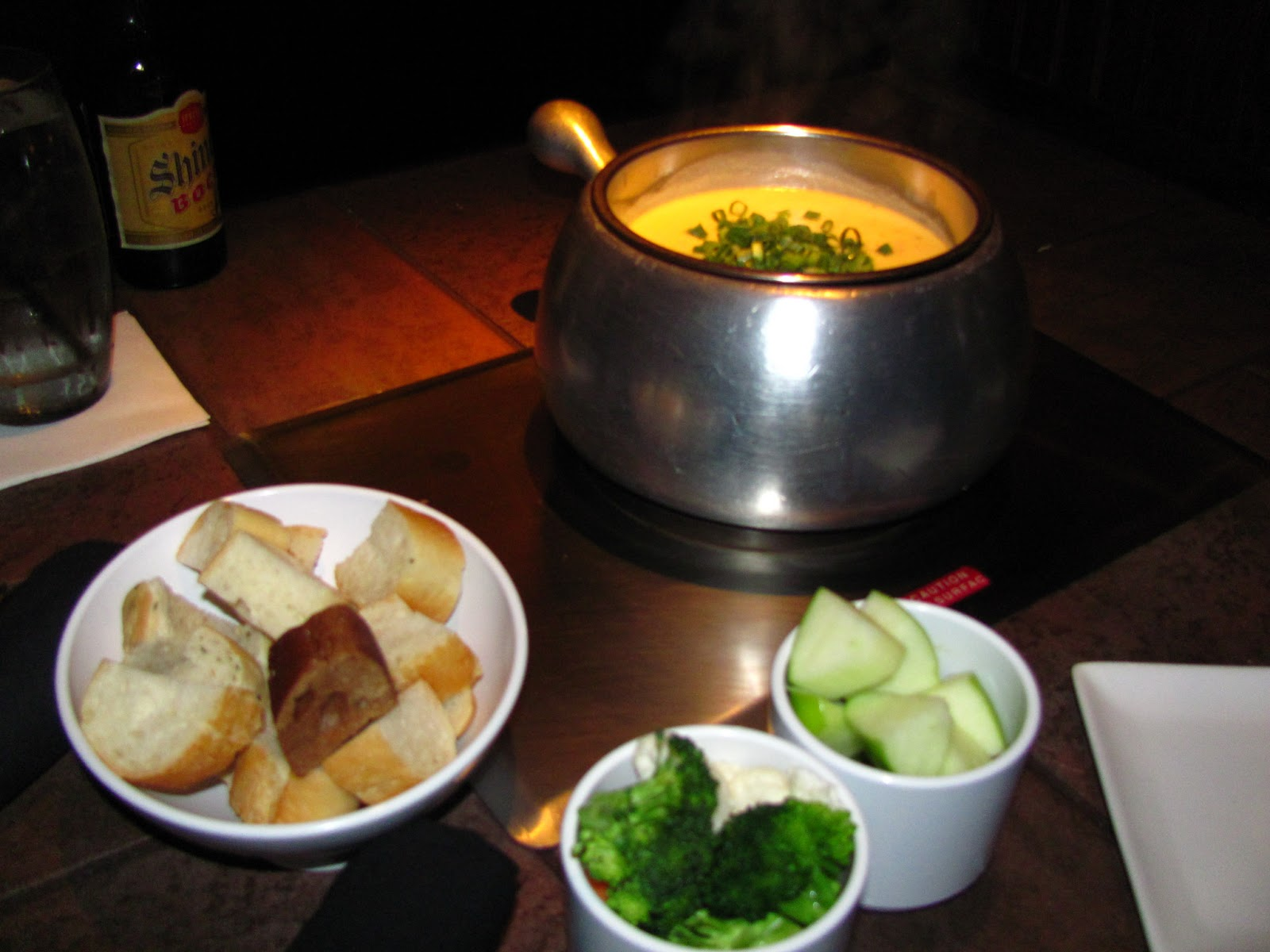 For the Love of Food: The Melting Pot's Bacon and Brie Fondue