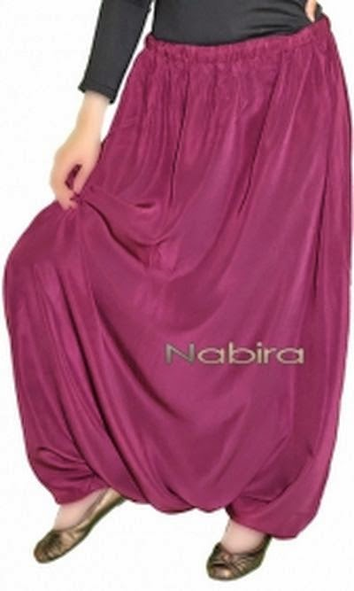 Hijab style serwal