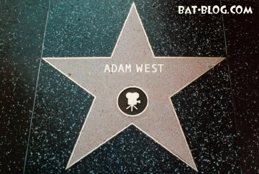 ADAM WEST S BATMAN HOLLYWOOD BV WALK OF FAME