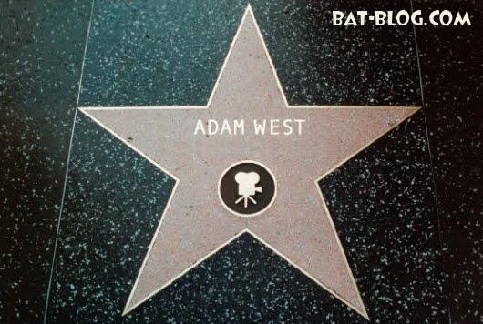 ADAM WEST S BATMAN HOLLYWOOD BV WALK OF FAME