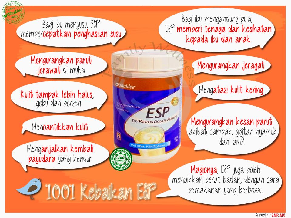 ESP, Testimoni ESP,