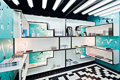 Unique Bookstore Interior Design