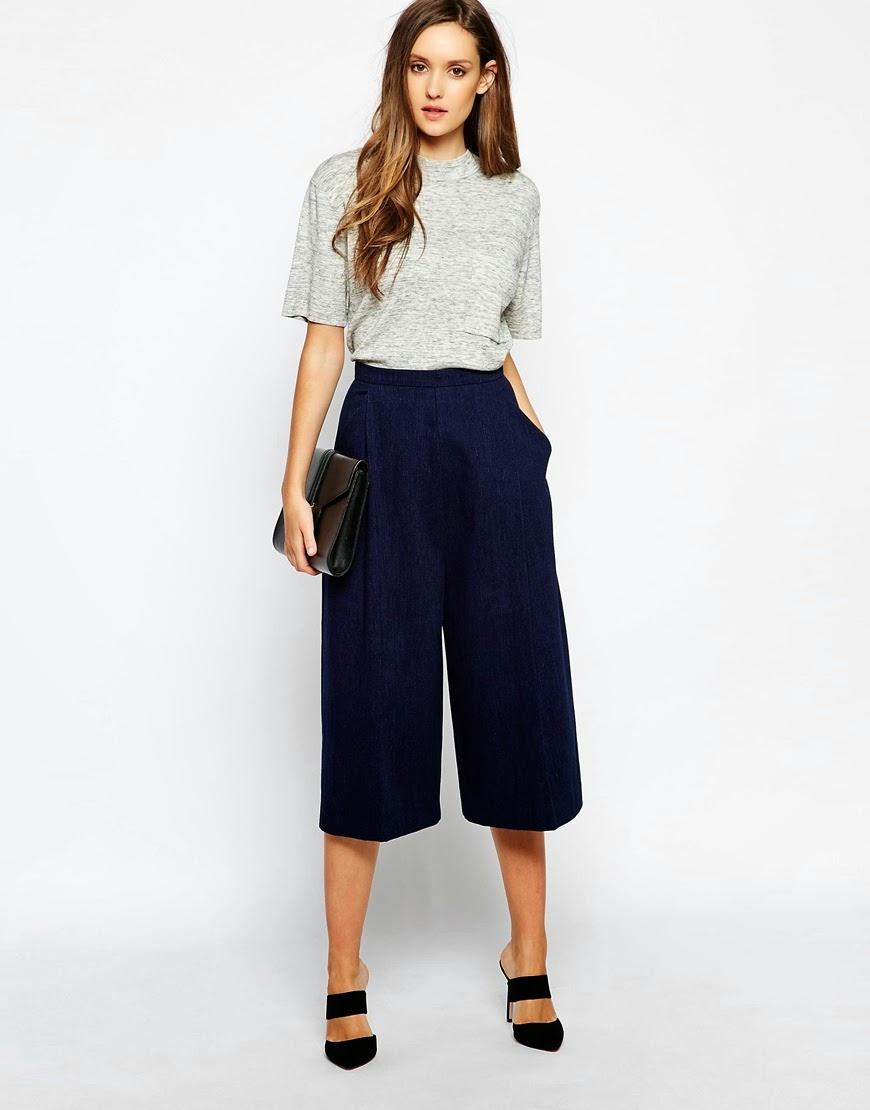 Pantaloni Hphy4w Zara Pineglen Cb44 Culotte ~ fI76gYbyv