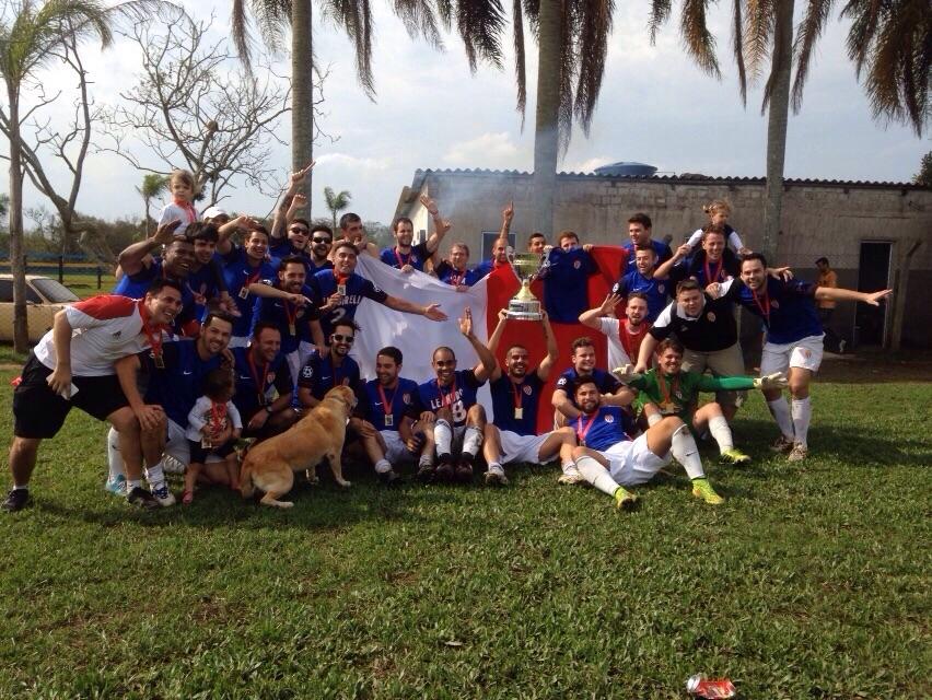 Tetra Campeão Copa Farroupilha 2015