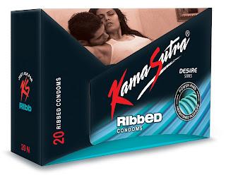 Kamasutra Ribbed Condoms