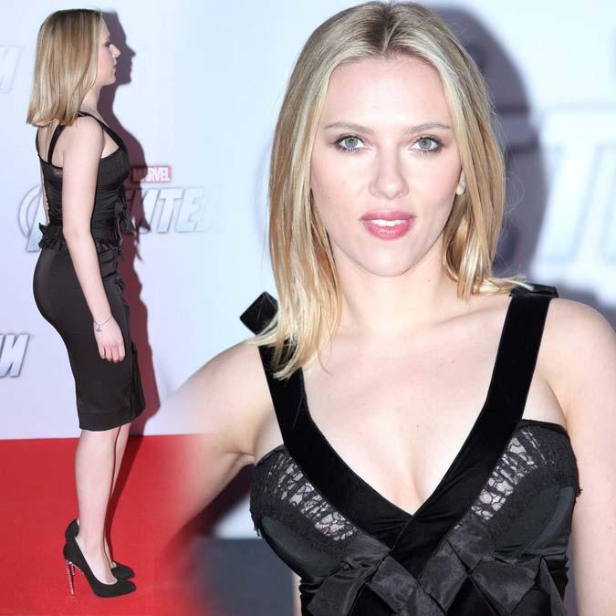 [FOTOS] Scarlett Johansson (Decotada): 'The Avengers' (br:'Os Vingadores') Première em Moscow - 17 de Abril de 2012
