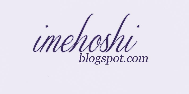 imehoshi ; pasja tworzenia