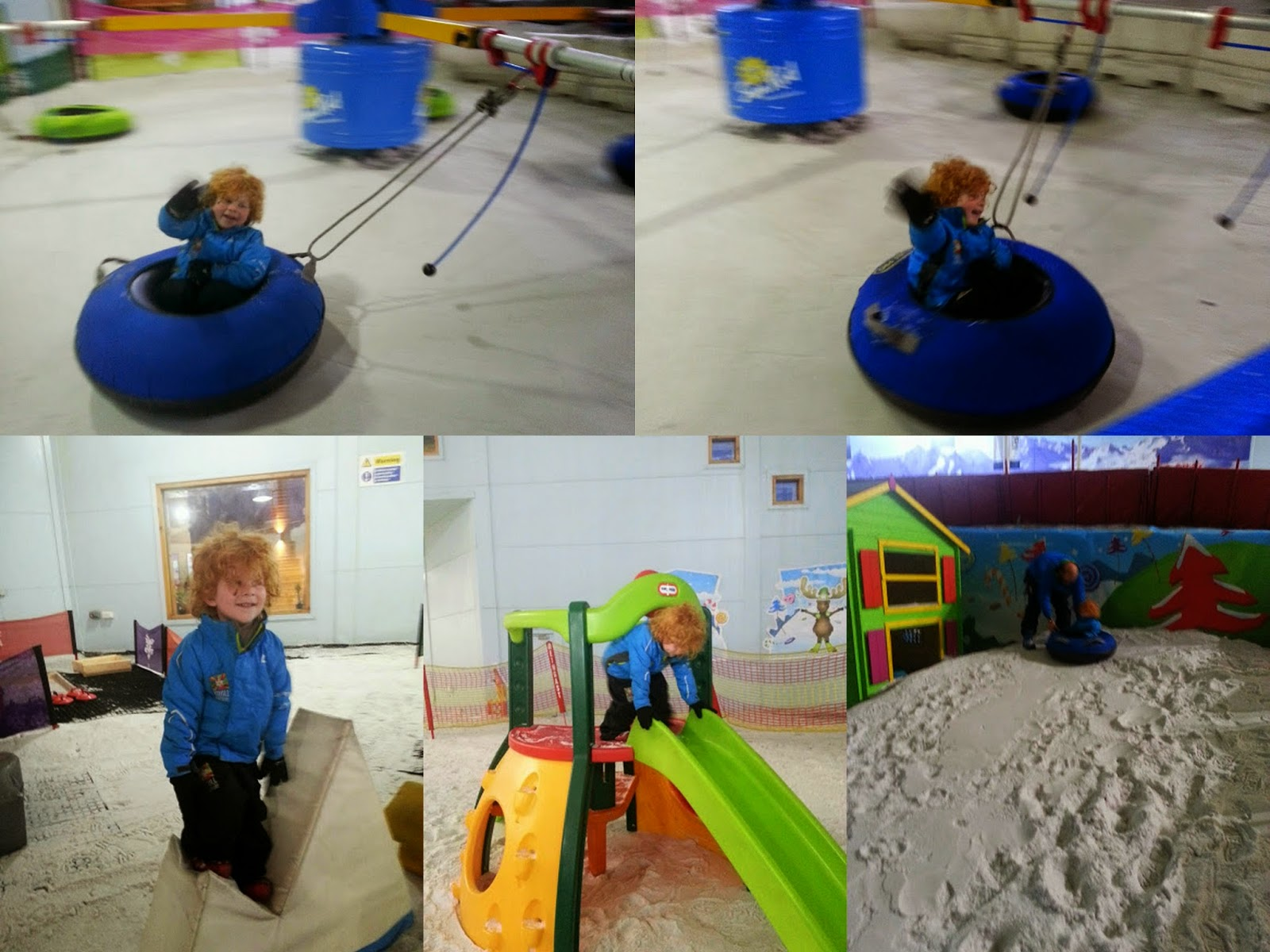 Various toys in Mini Moose Land Snow Play Chill Factore Manchester