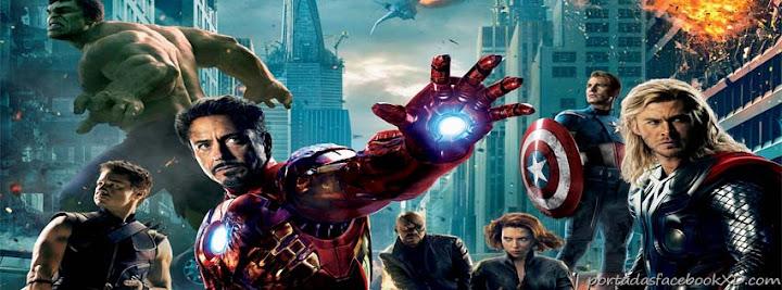 Vengadores, Avengers, portada, biografía en facebook, timeline
