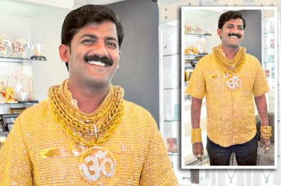 baju termahal,baju paling mahal, baju mahal, baju emas,