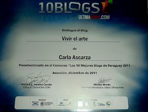 Bien por el ARTE! Blog distinguido por el diario Ultima Hora