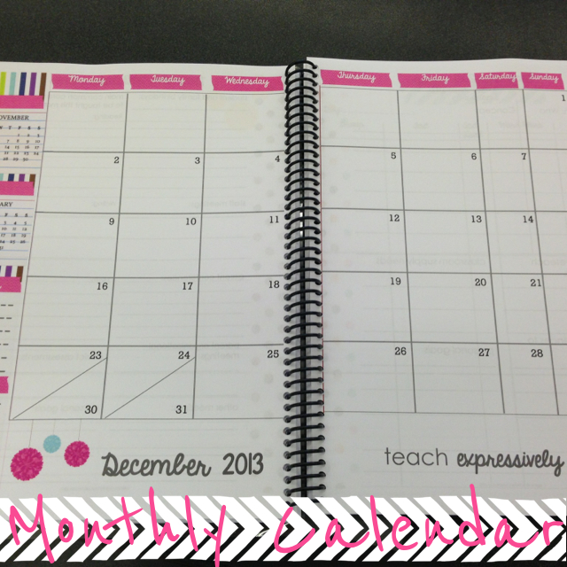 Cute Weekly School Planner Cute template- just check out