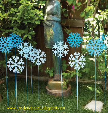 Garden decor discount garden decor for Inexpensive garden decor