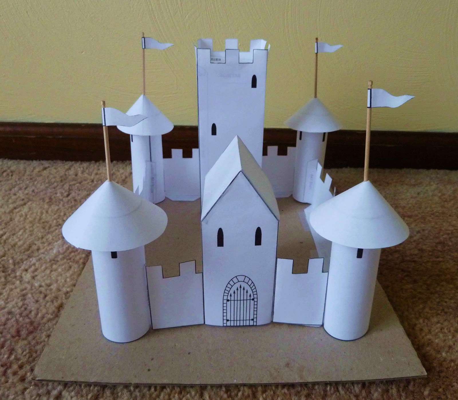 Swanky lifestyle november 2011 for Castle made out of cardboard