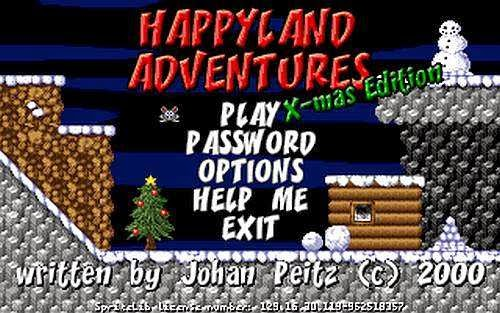 Happyland Adventures  X-Mas Editon