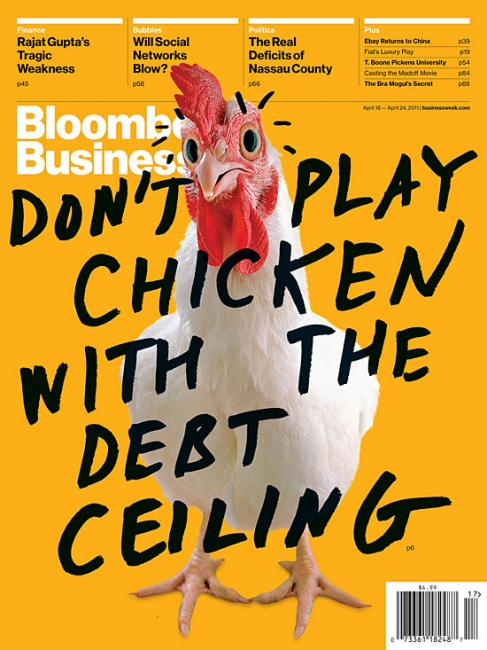 Bloomsburg Business Chicken Cover