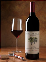 Photo of a Grgich Hills Cabernet Wine