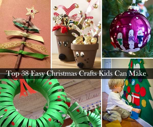 ... Closet: Top 38 Easy and Cheap DIY Christmas Crafts Kids Can Make