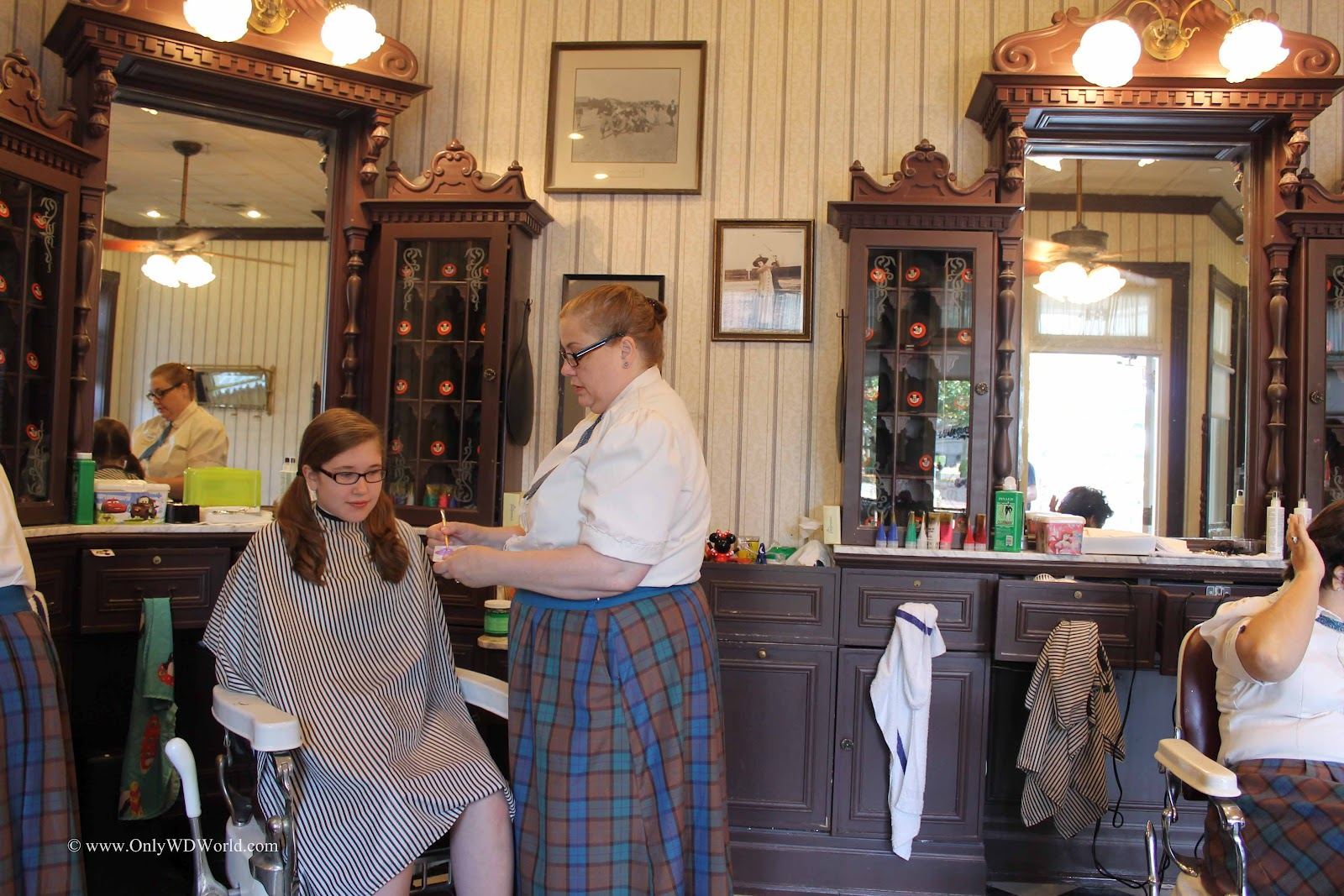 Top Disney World Deal At The Harmony Barber Shop Disney World Blog ...