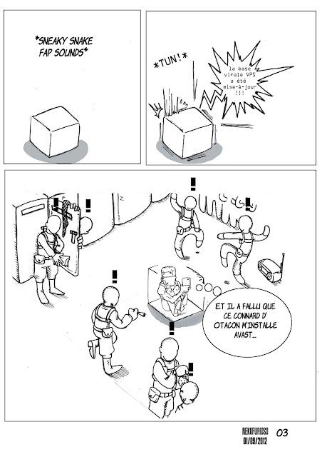 Strip 25 ans MGS
