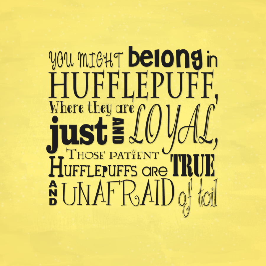 Hufflepuff Motto