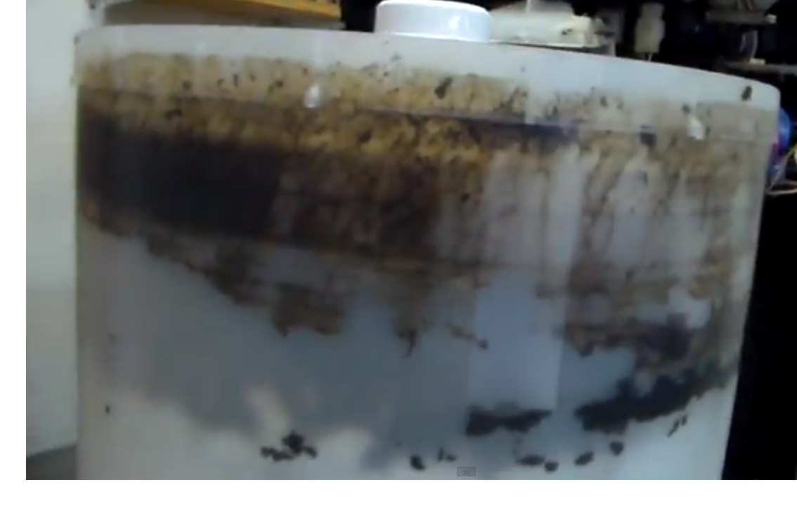 mold smell in washing machine