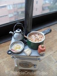Cocina a Leña en Miniatura