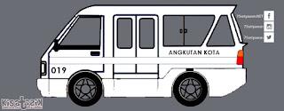 Trayek dan Info Angkot 019 di Tasikmalaya | Kisatasik