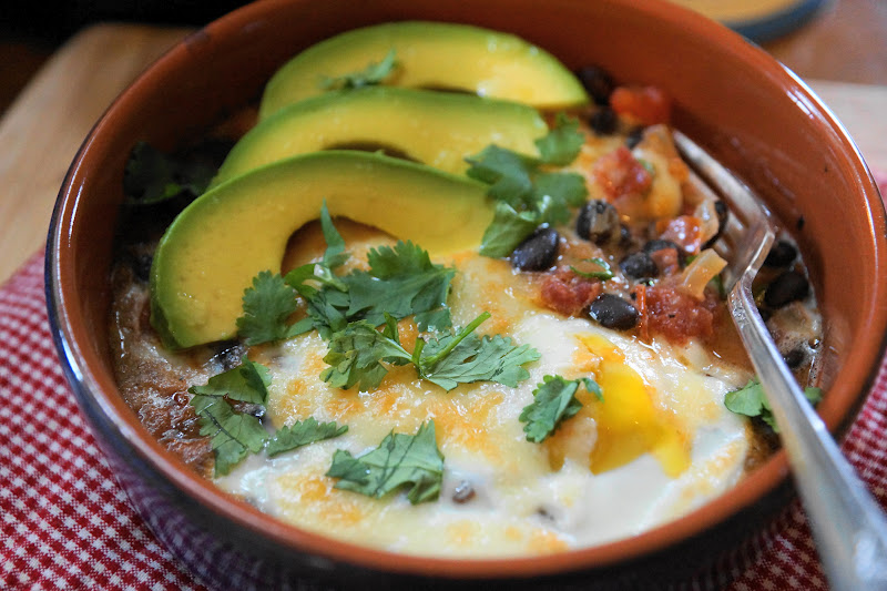 Basque-Style Baked Eggs Recipe — Dishmaps