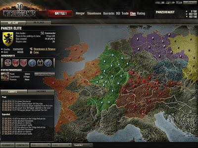 World of Tanks глобальная карта
