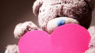 Oso de peluche de San Valentín