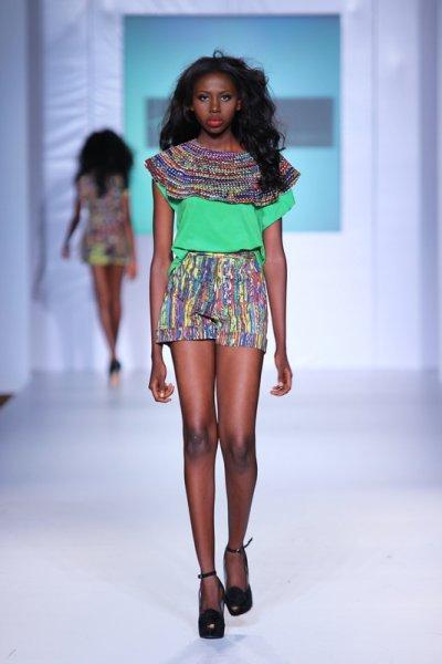 Mtn Lagos Fashion And Design Fashion Week 2012 Ituen Basi Ciaafrique African Fashion