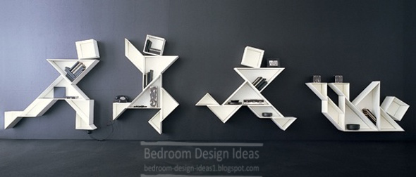 Shelves Design kids bedroom design ideas : modern shelves designs for kids bedroom