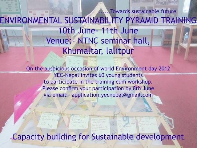 Environmental Sustainability Pyramid Training
