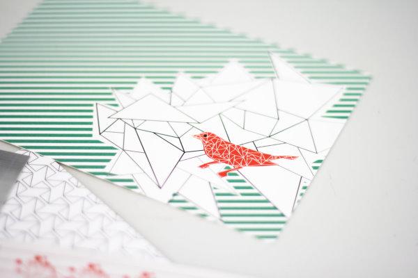 Tschirp Tschirp - zauberhafte Postkarte!
