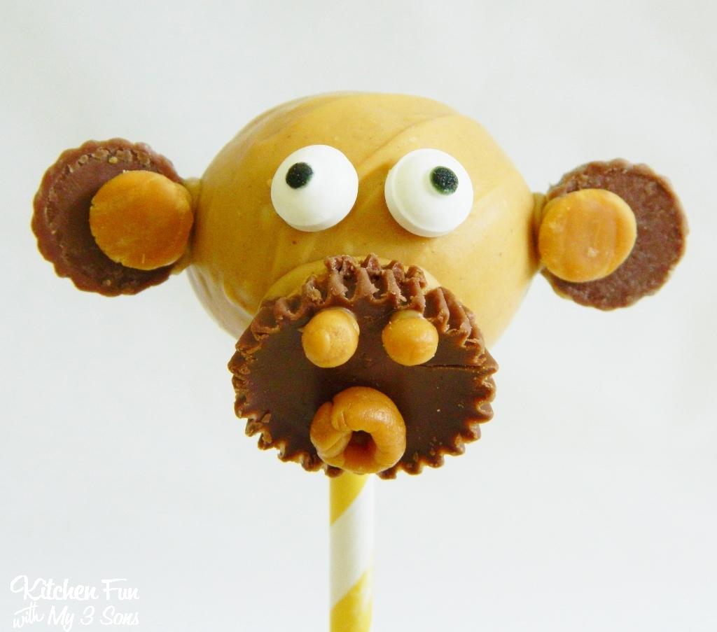 how to make a monkey cake pop