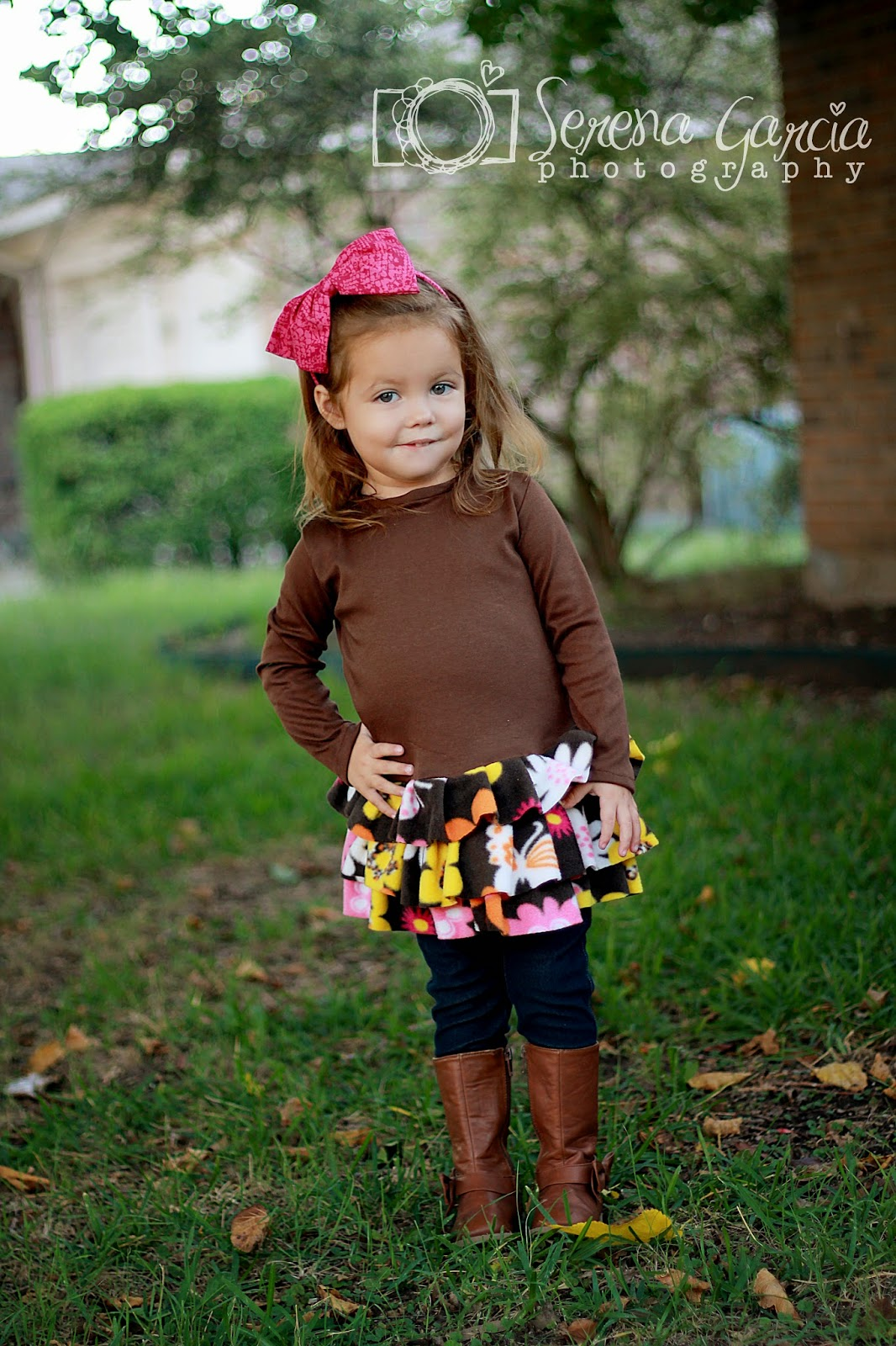 Sewing Patterns for Girls Dresses and Skirts: Knit Tunic Sewing ...