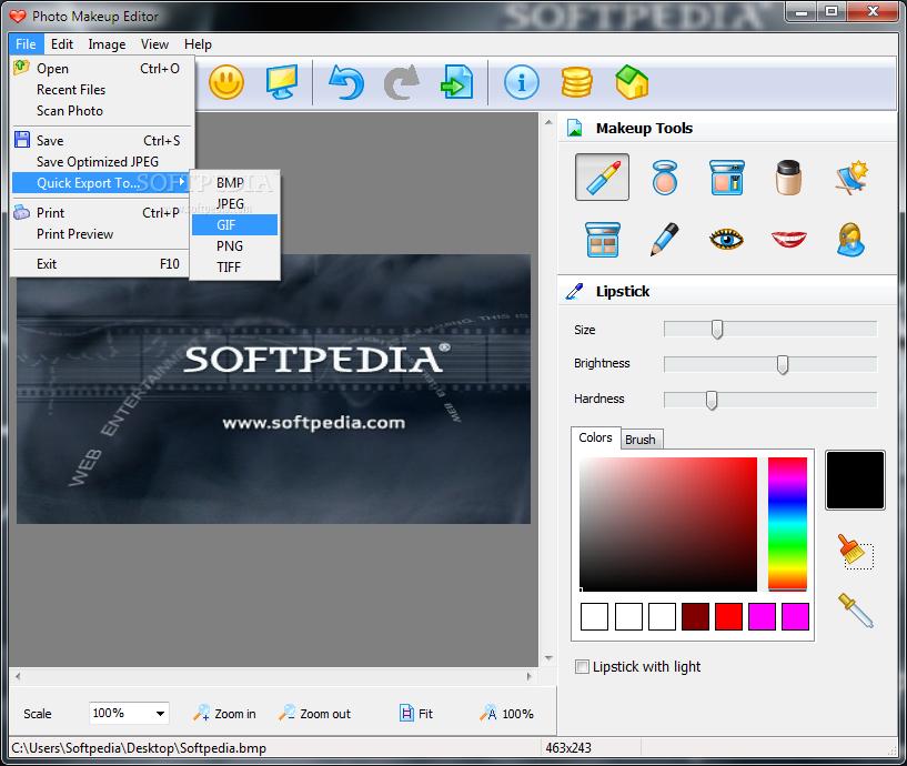 Makeup Photo Editor software