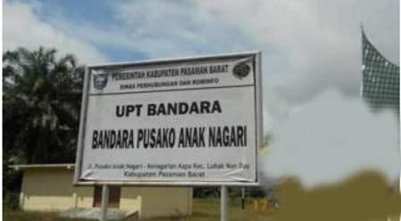 Nomor Call Center Bandara Pusako Anak Nagari