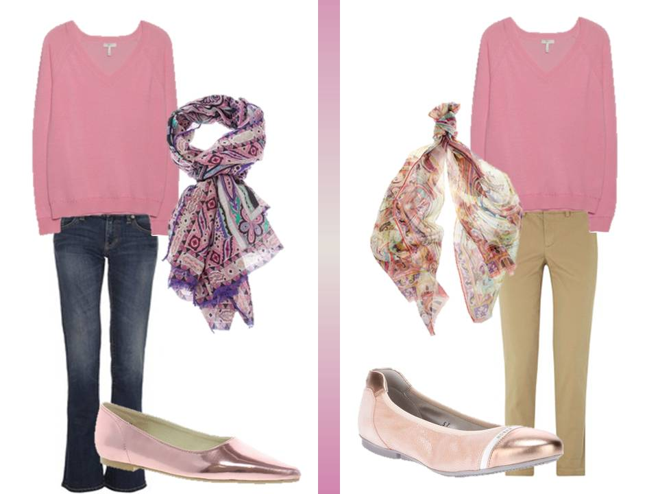 How to wear a PINK v-neck sweater | The Vivienne Files