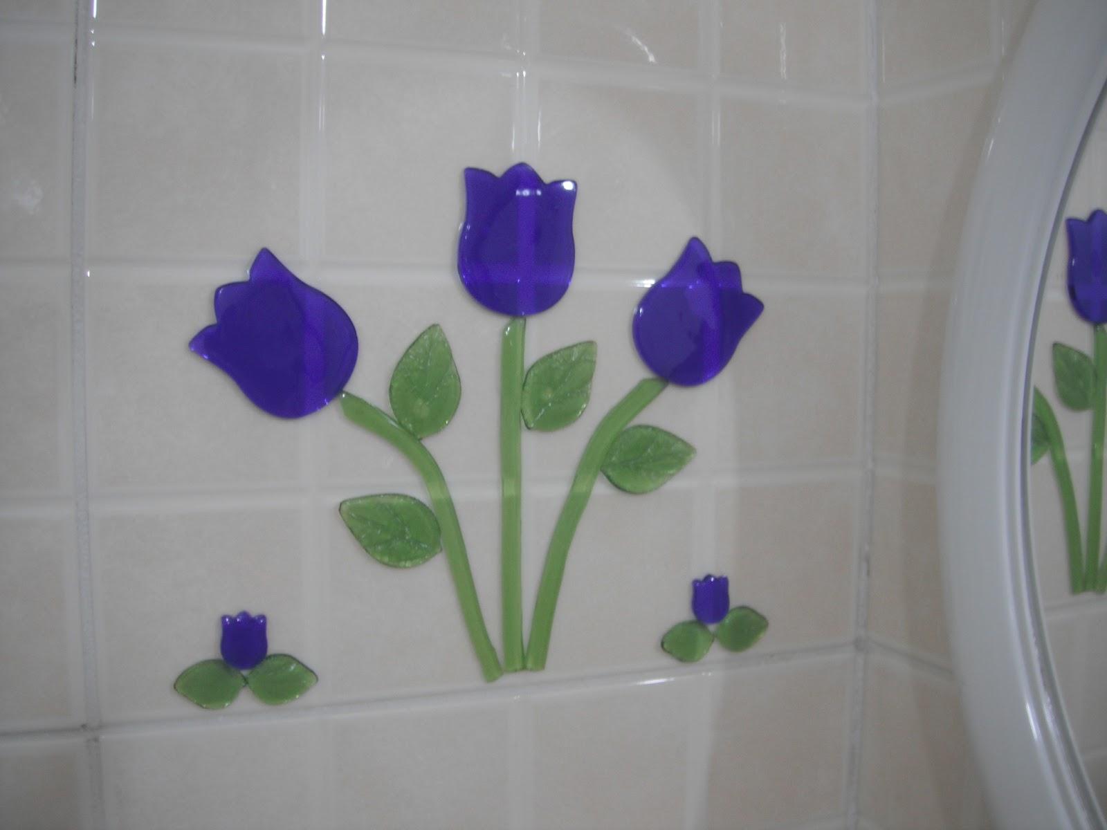 Blá Blá Blá da Rô Adesivos Gel no banheiro -> Banheiro Feminino Bla Bla Bla