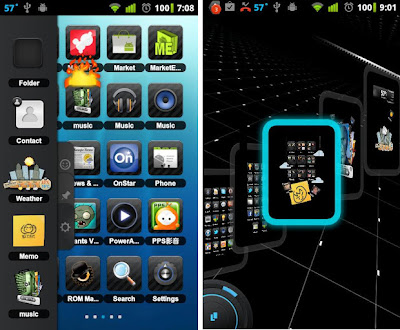 TSF Shell 3D Android Launcher